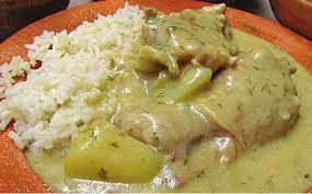 Pollo En Crema Y Loroco Guatemalteco